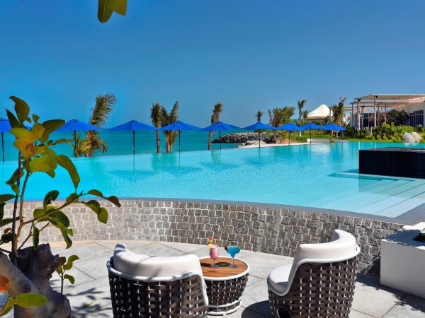 Zaya Nurai Island Abu Dhabi Main Pool