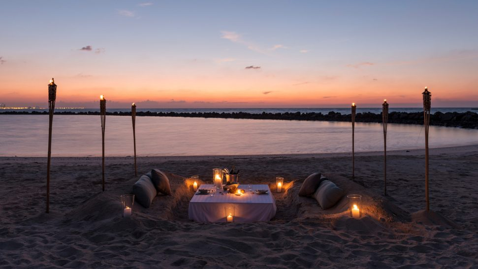 Zaya Nurai Island Abu Dhabi Private Romantic Dinner
