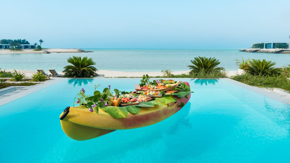 Zaya Nurai Island Abu Dhabi Privete Floating Sushi Platter