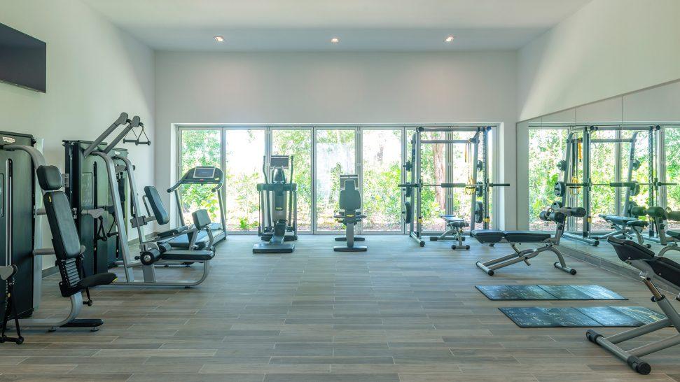 Zaya Nurai Island Abu Dhabi fitness