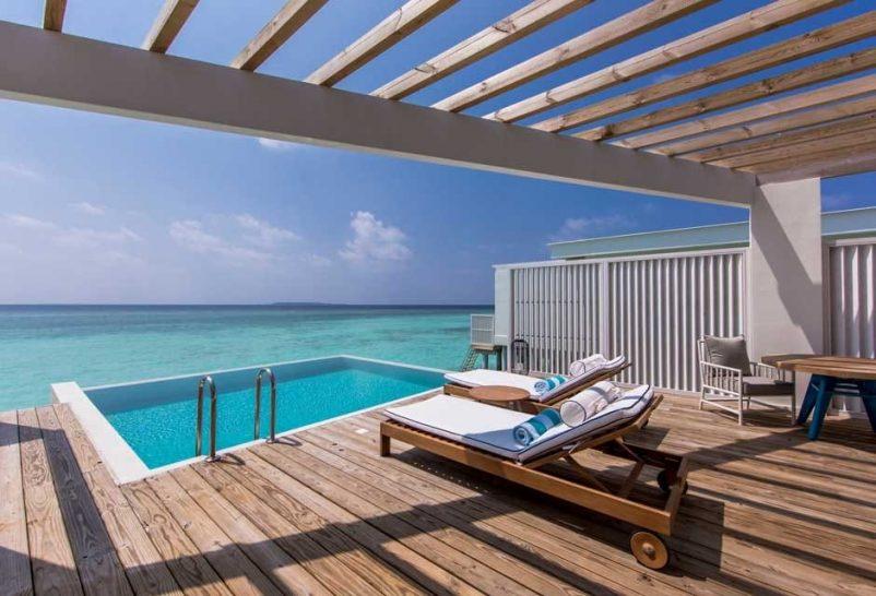 Amilla Fushi Maldives ocean lagoon