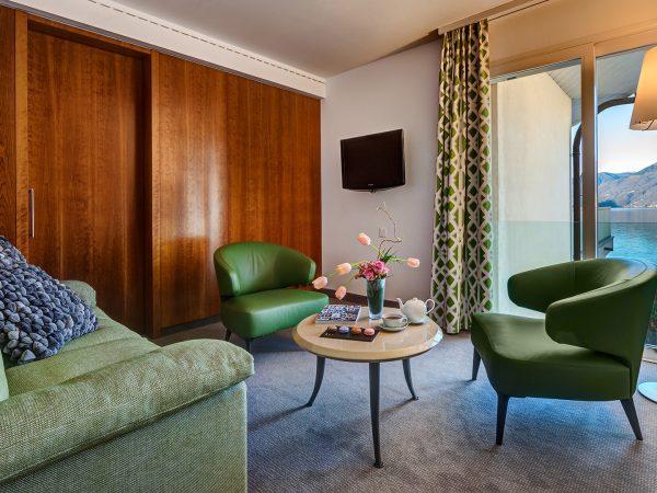 Hotel Eden Roc Deluxe Suite lake view