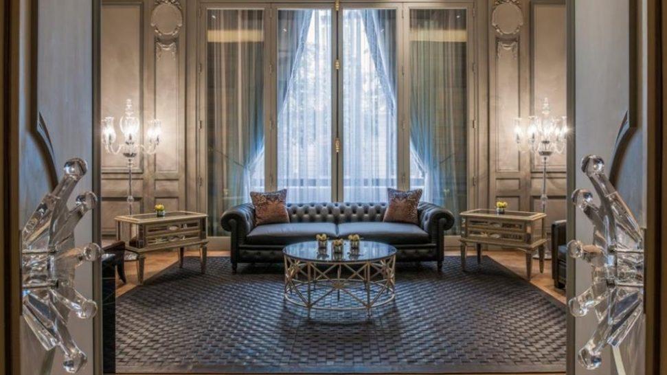 The Peninsula Paris lounge kleber