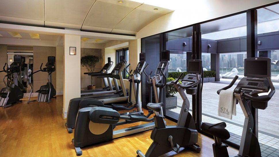 The Peninsula Hong Kong fitness centre