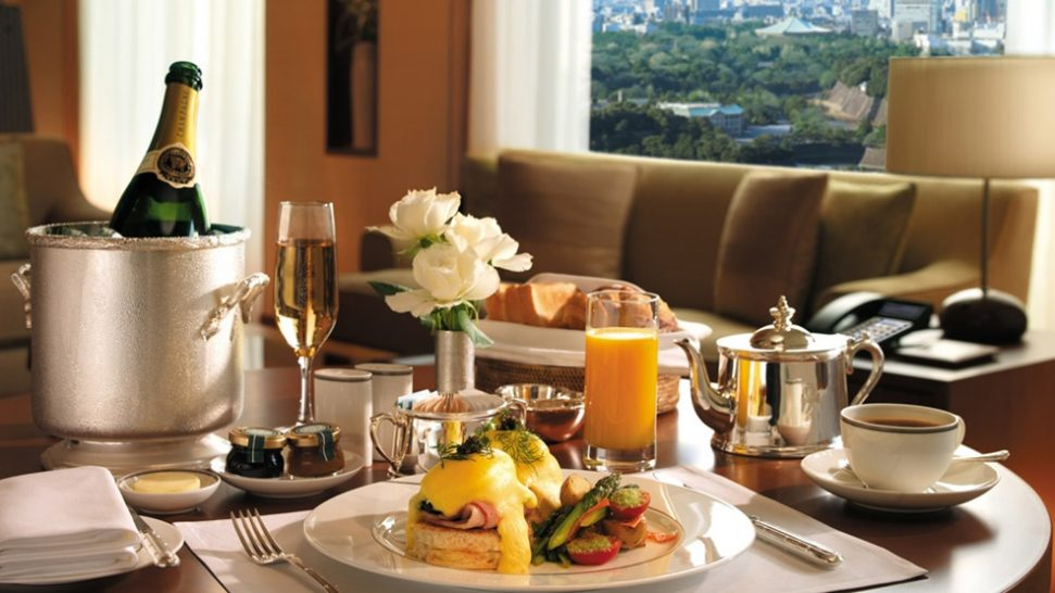 The Peninsula Tokyo In room dining