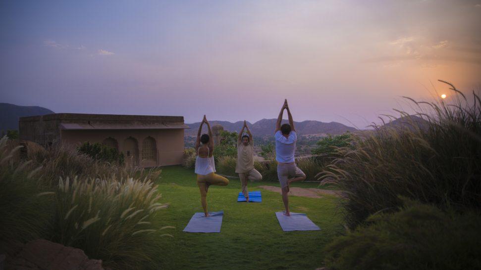 Alila Fort Bishangarh Yoga