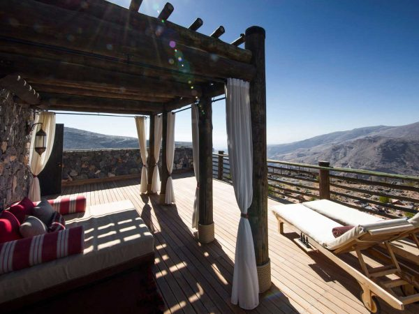 Alila Jabal Akhdar Jabal Terrace