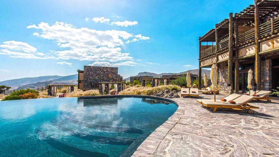 Alila Jabal Akhdar Oman Pool