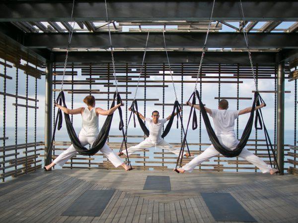 Alila Villas Uluwatu Aerial Yoga