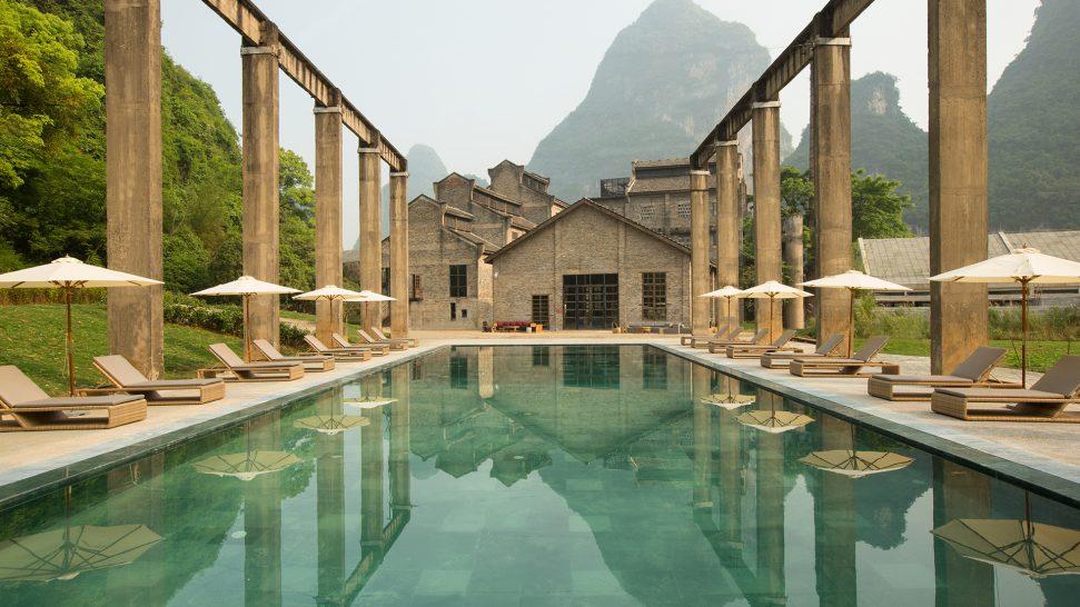Alila Yangshuo Pool