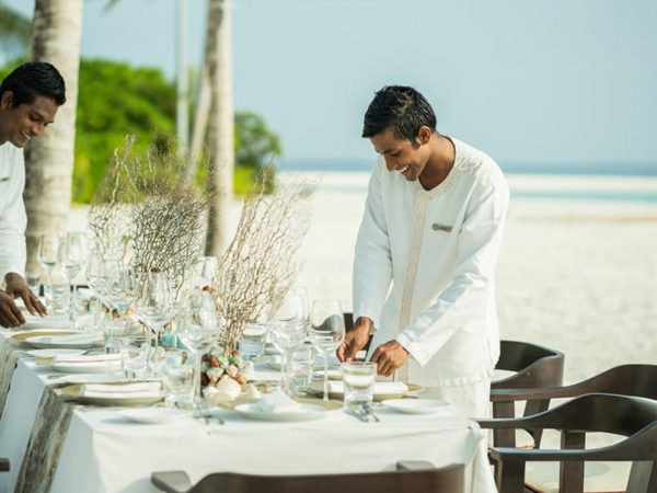 Four Seasons Maldives Explorer Cruise Beach Barbecues