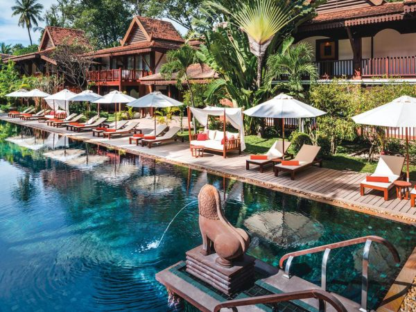 Belmond La Rsidence dAngkor Outdoor Pool View