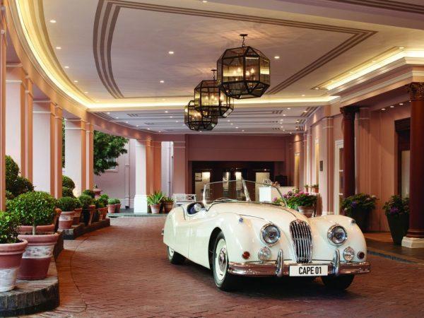 Belmond Mount Nelson Entrance w Classic Car
