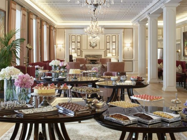 Belmond Mount Nelson Lounge High Tea