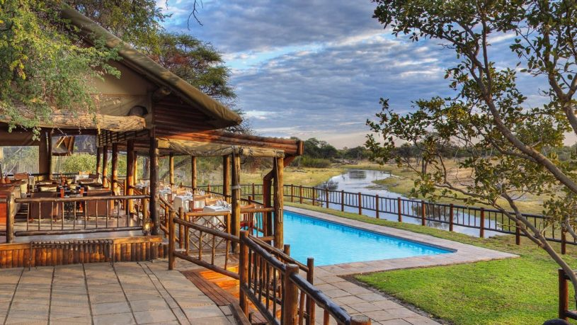 Belmond Savute Elephant Lodge pool