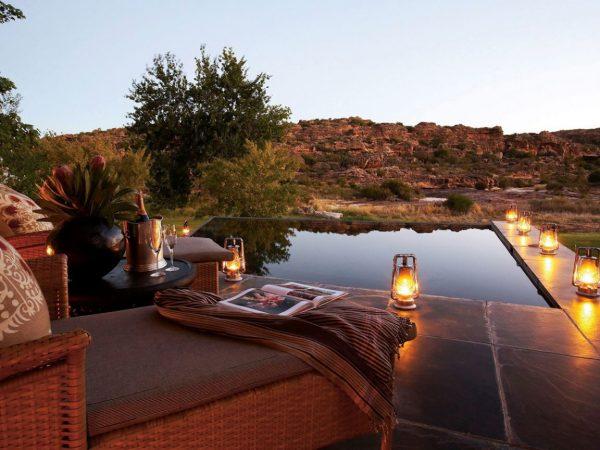 Bushmans Kloof South Africa Riverside Supreme Suite Sunset