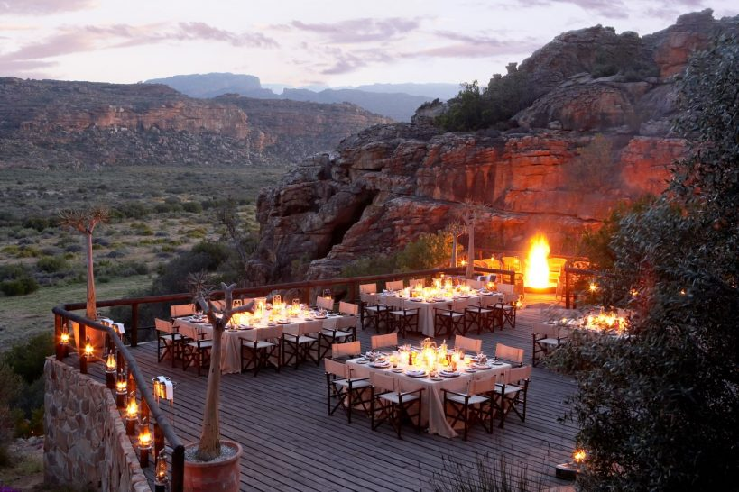 Bushmans Kloof Wilderness Reserve Embers Dining
