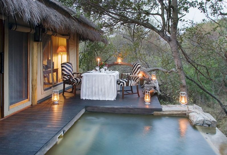 Camp Jabulani Greater Kruger Park Suite Pool