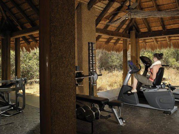 Camp Jabulani Gym