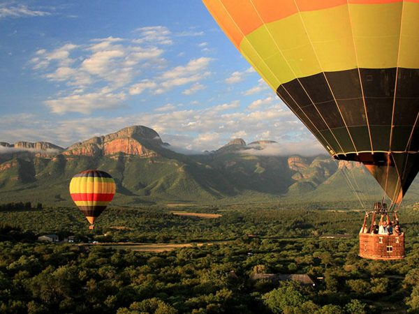 Camp Jabulani Hot air ballooning