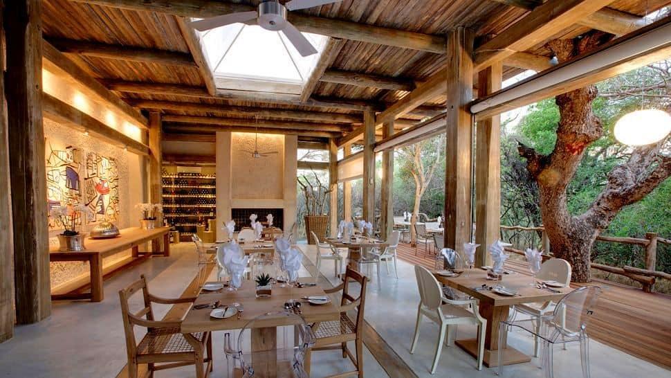 Kapama Karula Lodge Dining