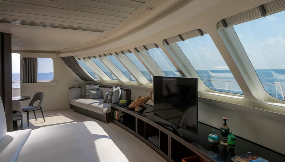 Four Seasons Maldives Explorer Cruise Explorer Suite