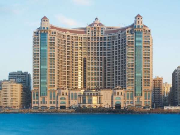 Four Seasons Hotel Alexandria at San Stefano Exterior