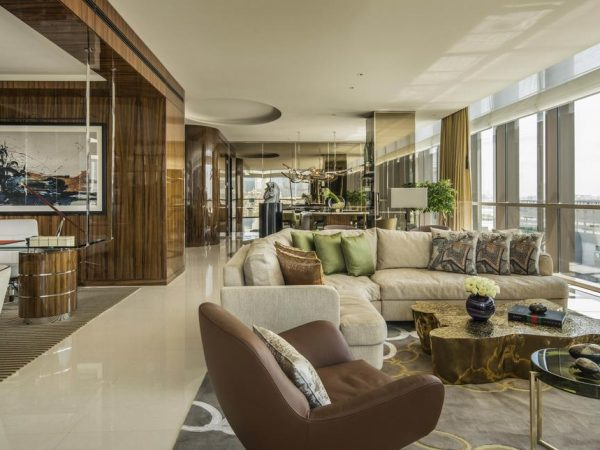 Four Seasons Hotel Dubai International Financial Centre Lobby