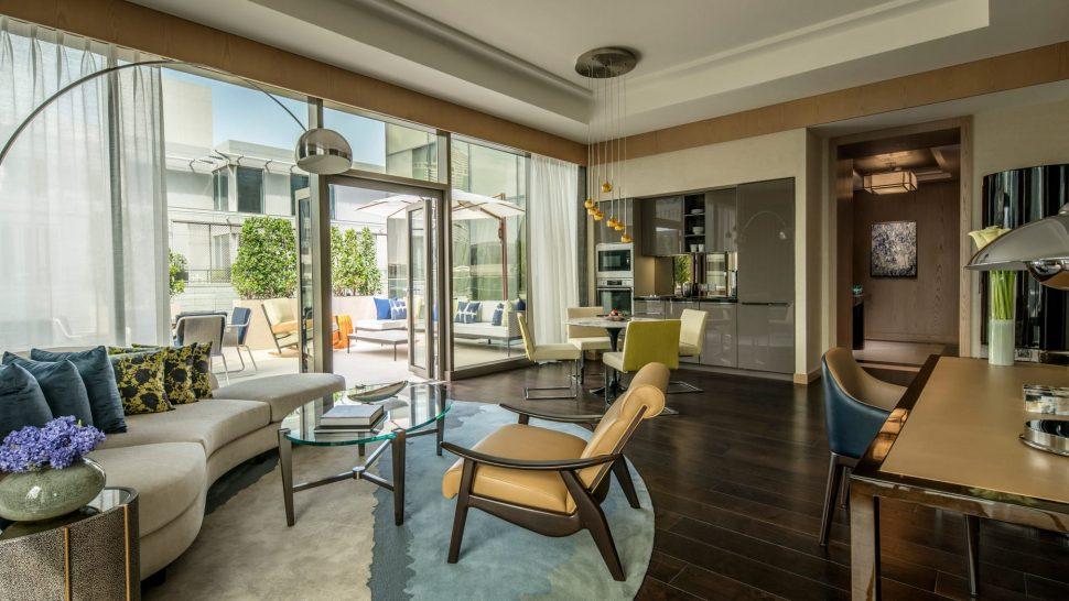 Four Seasons Hotel Dubai International Financial Centre Terrace Suite