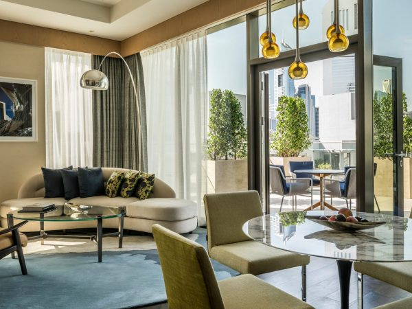 Four Seasons Hotel Dubai International Financial Centre View