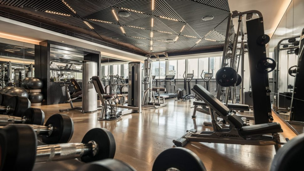 Four Seasons Hotel Dubai International Financial Centre gym
