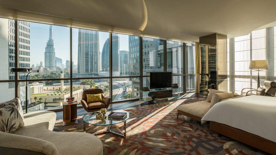 Four Seasons Hotel Dubai International Financial Centre penthouse suite