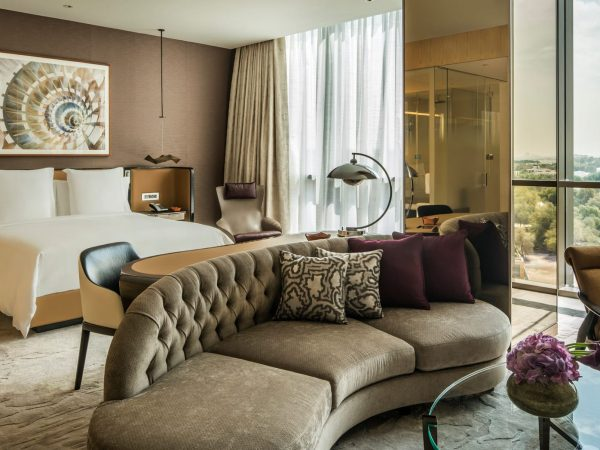 Four Seasons Hotel Dubai International Financial Centre studio suite