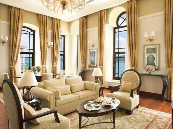 Four Seasons Hotel Istanbul At The Bosphorus Two Bedroom Bosphorus Palace Suite