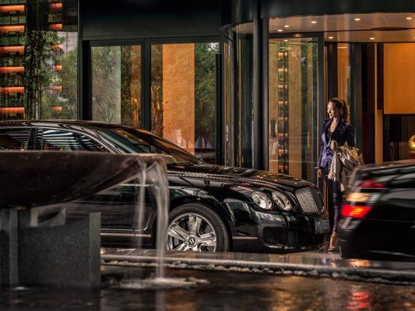 Four Seasons Hotel Pudong Shanghai Arrival