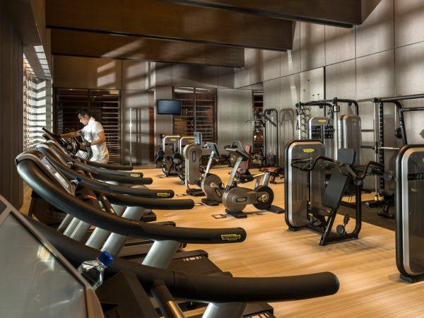 Four Seasons Hotel Pudong Shanghai Gym