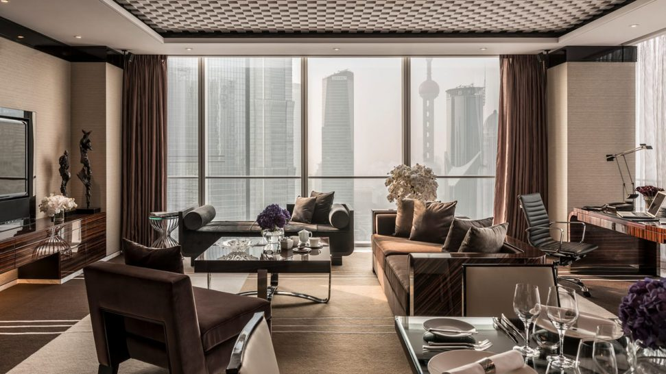 Four Seasons Hotel Pudong Shanghai Pearl Suite