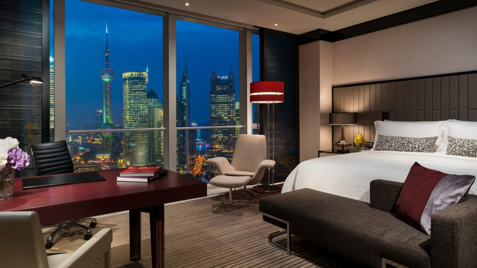 Four Seasons Hotel Pudong Shanghai Pearl View Deluxe Room