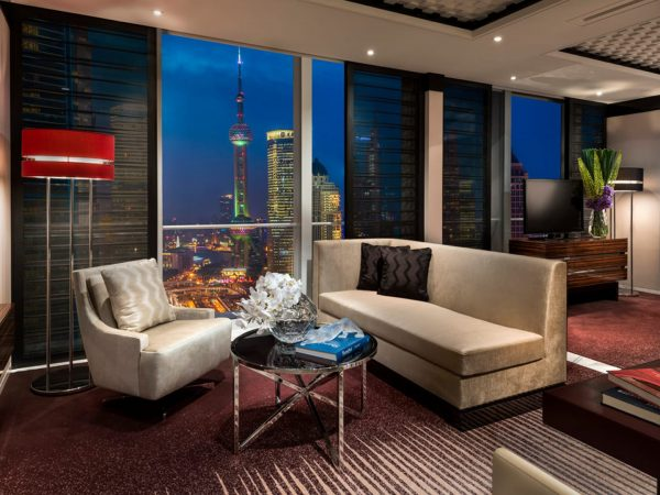 Four Seasons Hotel Pudong Shanghai Pearl View Junior Suite
