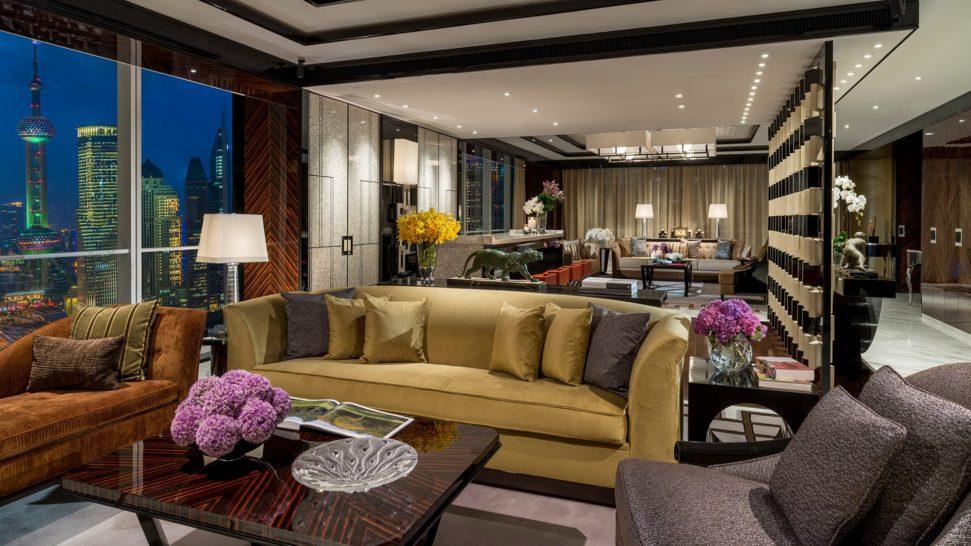 Four Seasons Hotel Pudong Shanghai Presidential suite