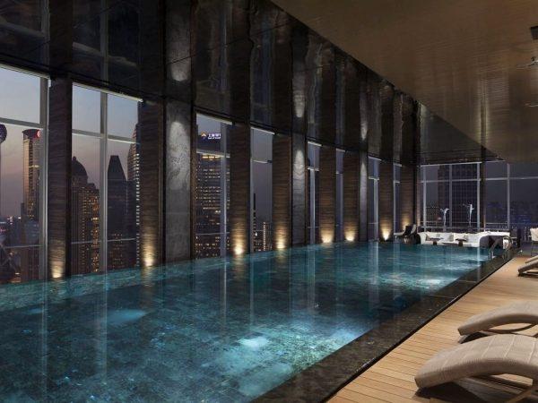 Four Seasons Hotel Shanghai at Pudong pool