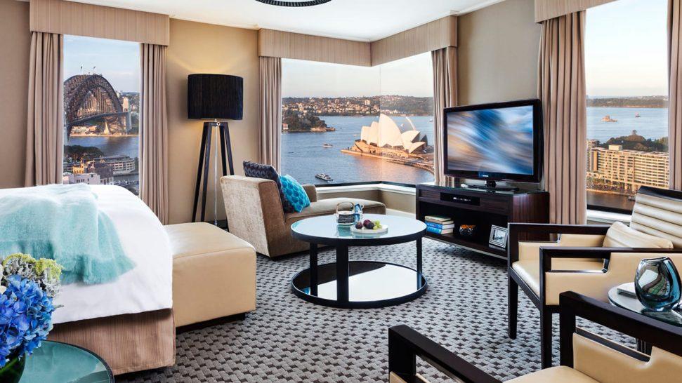Four Seasons Hotel Sydney Four Seasons Full Harbour Room