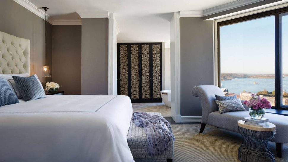 Four Seasons Hotel Sydney One bedroom city royal suite