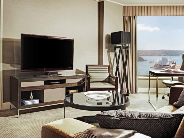 Four Seasons Hotel Sydney One bedroom full harbour suite
