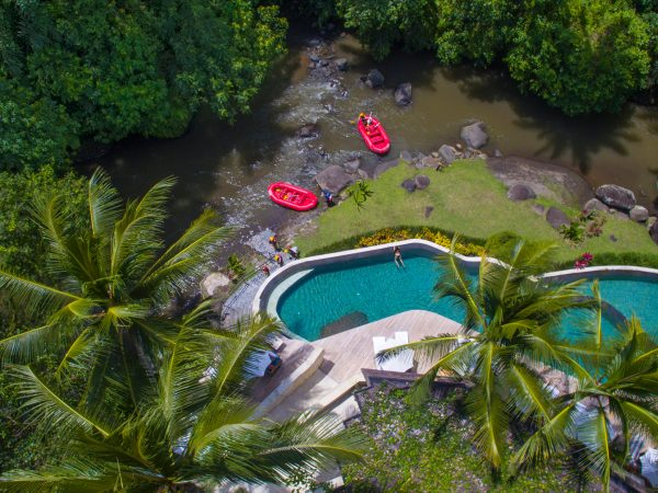 Four Seasons Resort Bali At Sayan River Top View