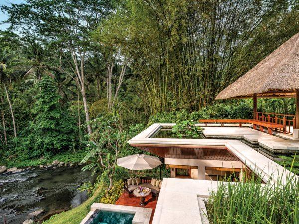 Four Seasons Resort Bali At Sayan Riverfront One Bedroom Villa