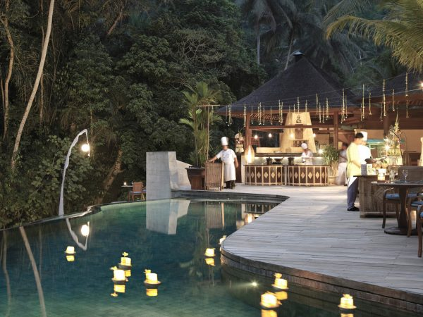 Four Seasons Resort Bali At Sayan Riverside Cafe