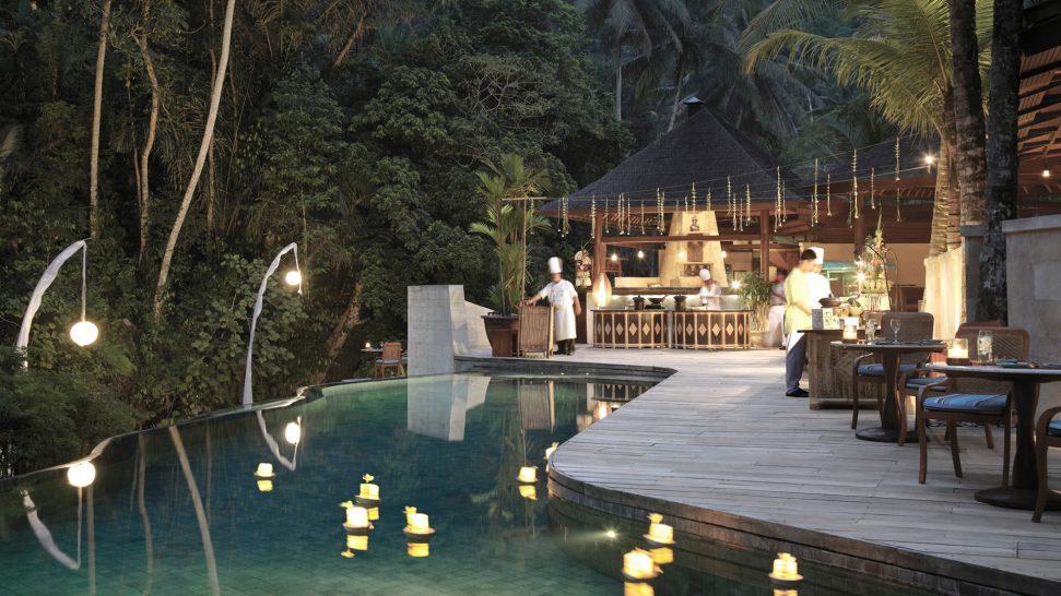 Four Seasons Resort Bali At Sayan Riverside Cafe