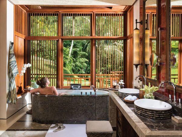 Four Seasons Resort Bali at Sayan bathroom