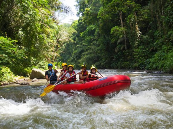 Four Seasons Resort Bali at Sayan river rafting
